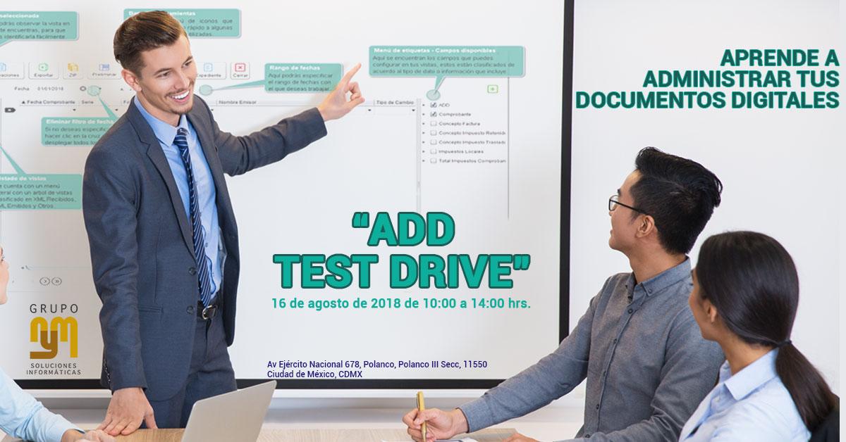 ADD Test Drive