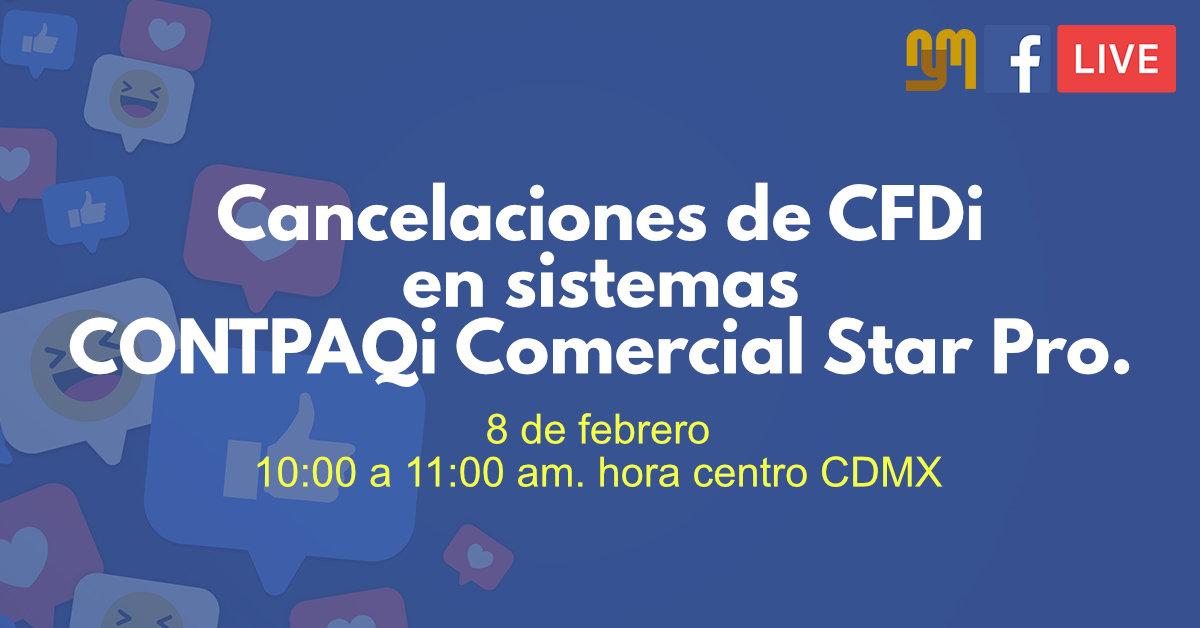 Cancelación CFDI