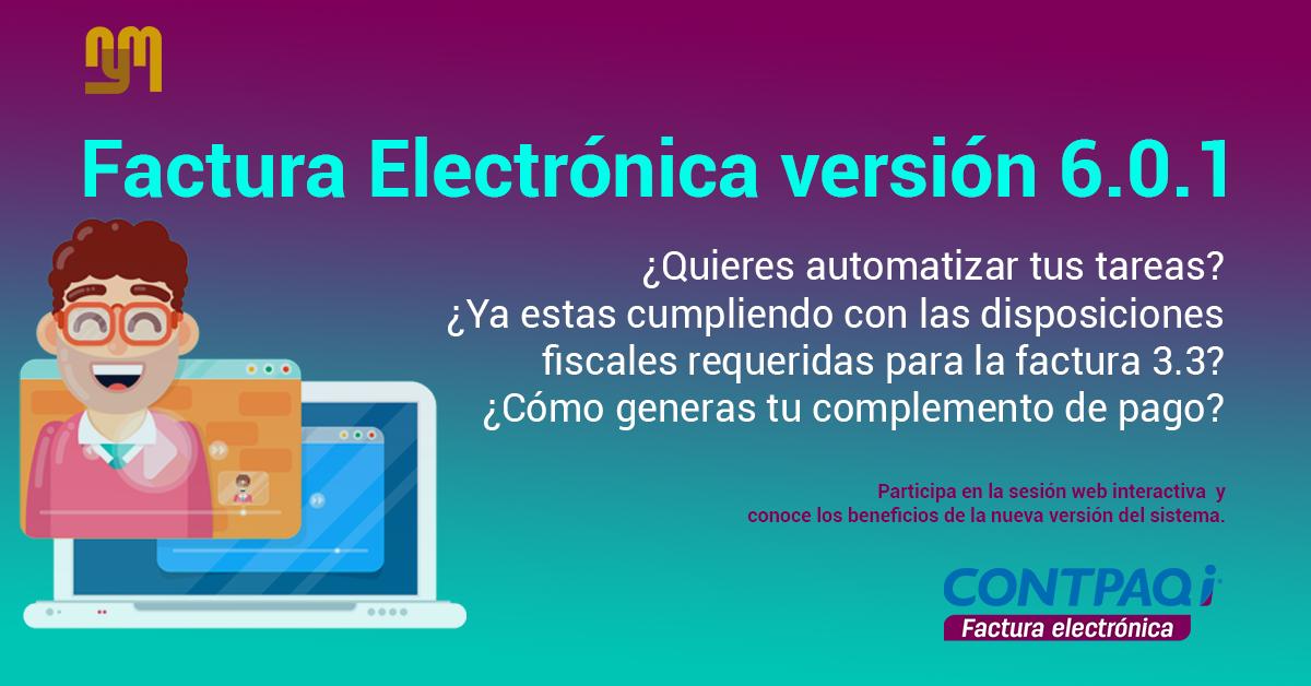 Webinar Factura Electronica V.6