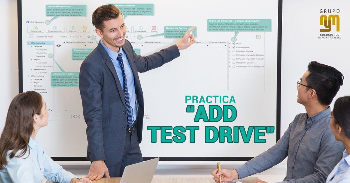 Practica ADD Test Drive