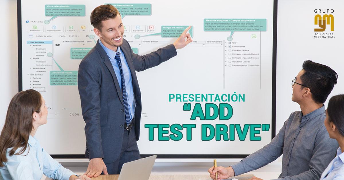 Presentación ADD Test Drive
